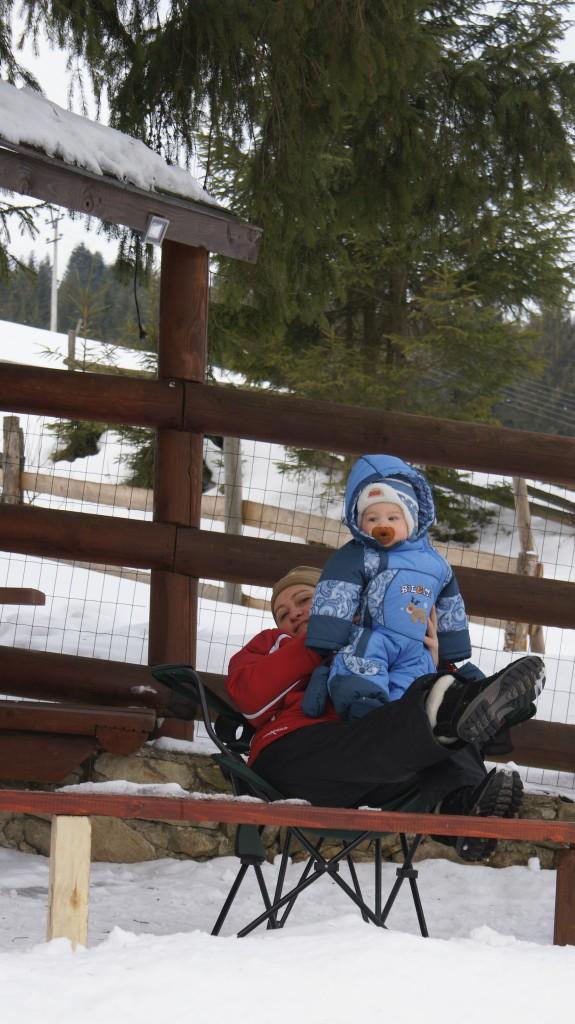 В горы с маленьким ребёнком, зимний отдых с ребёнком, Буковель с детьми