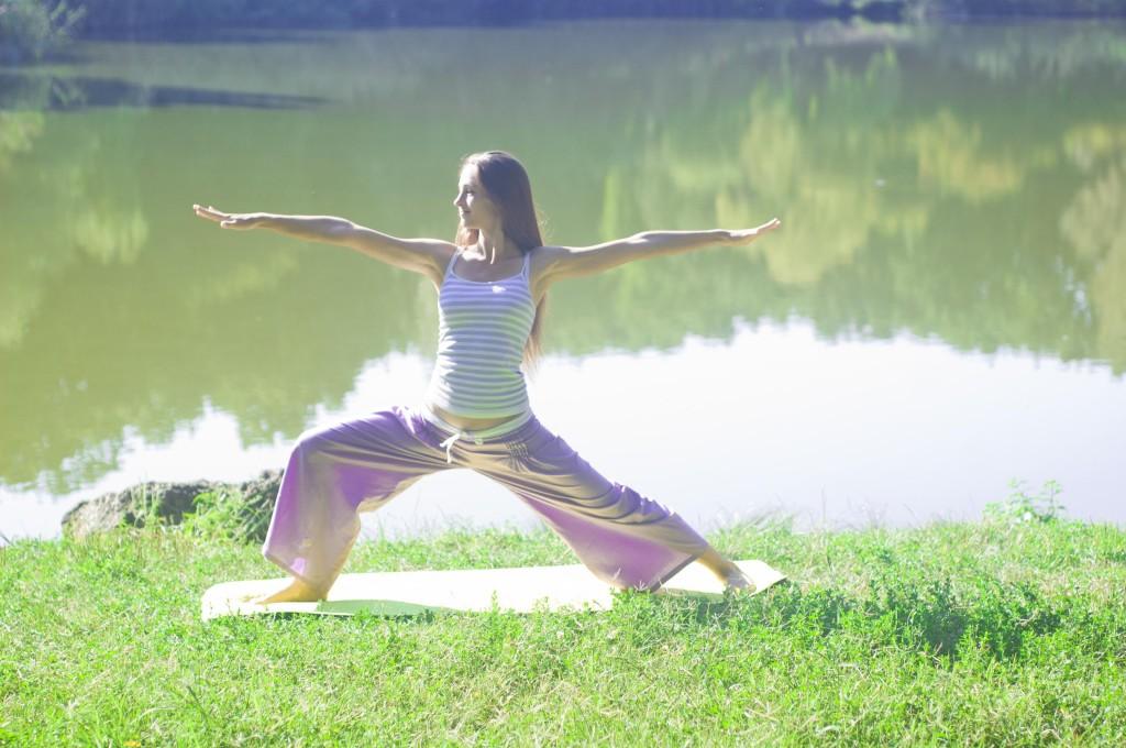 Кристина Мелинте, утренняя медитация