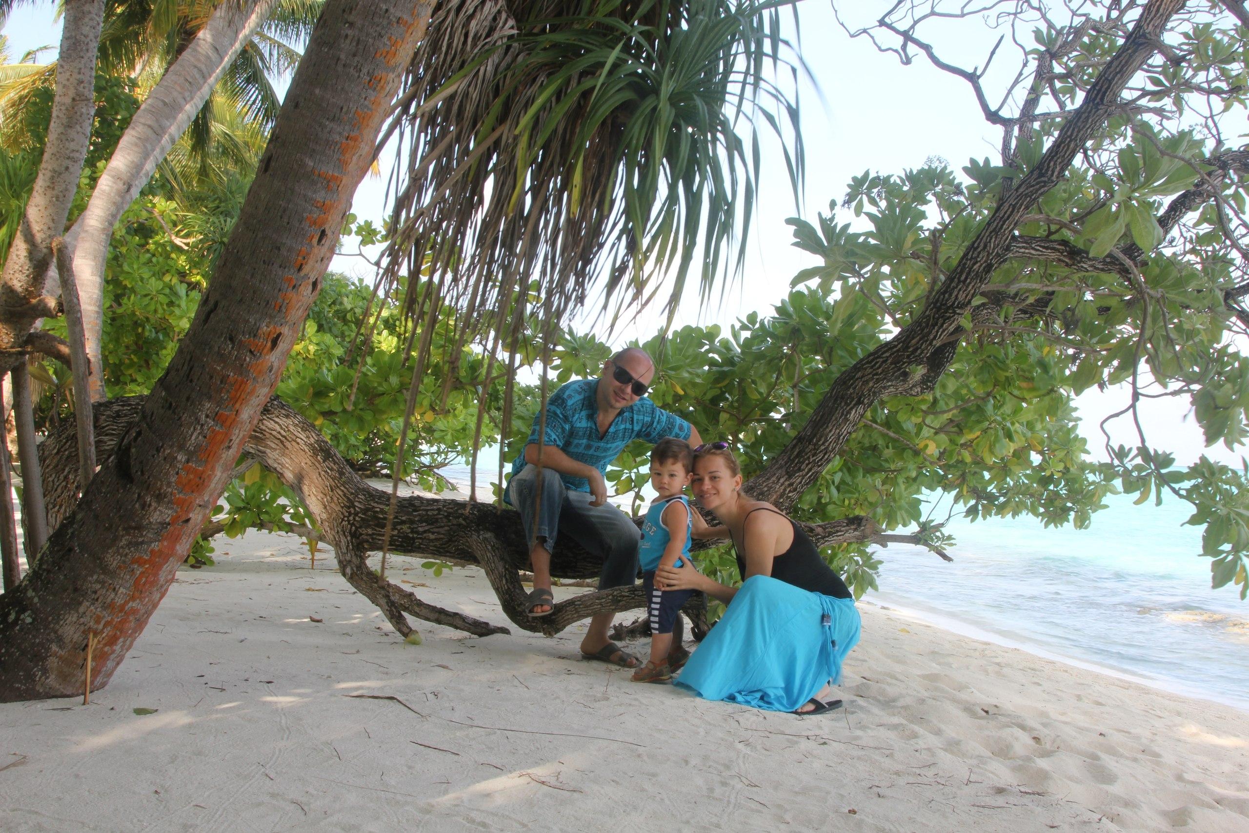 Мальдивы - рай для ребёнка, опасно ли ехать на Мальдивы с маленьким ребёнком