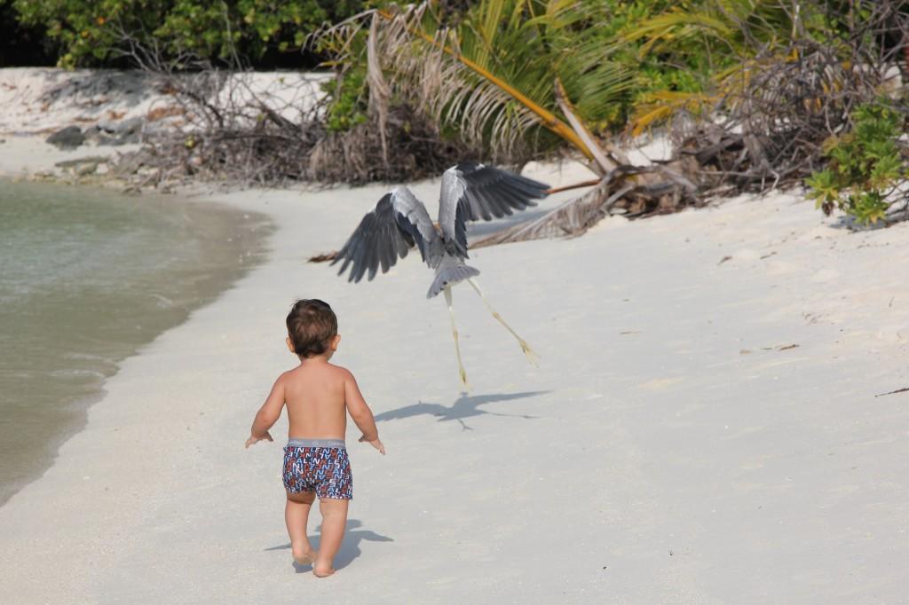 С маленьким ребёнком на Мальдивы, что взять с собой