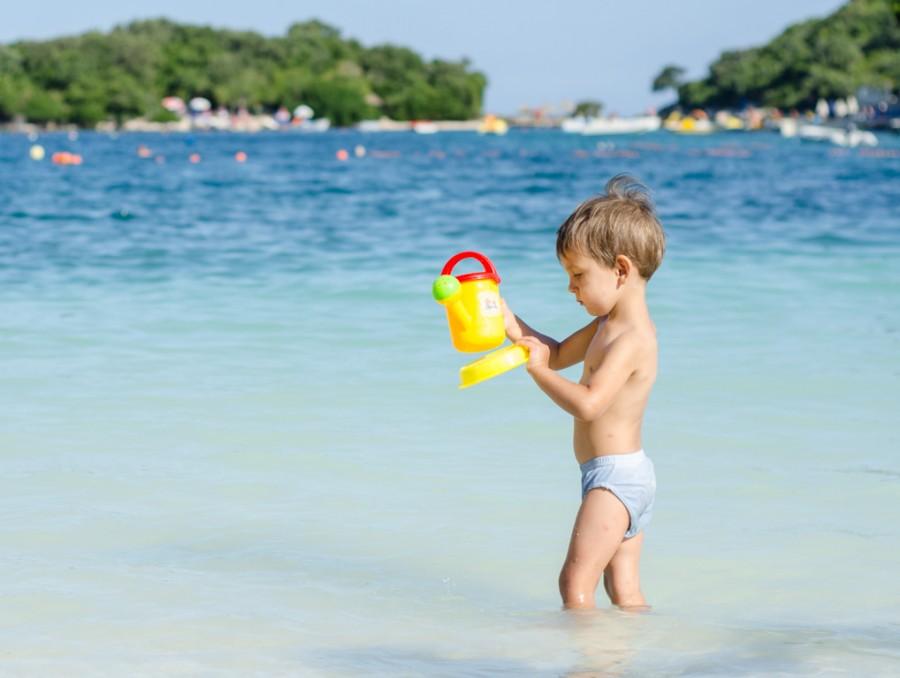 Албания море с ребёнком