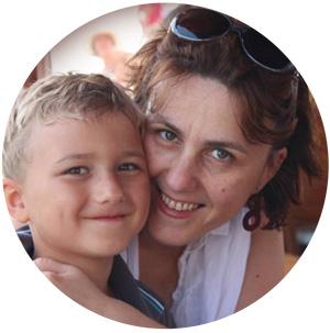 Лена Данилова, детский сад
