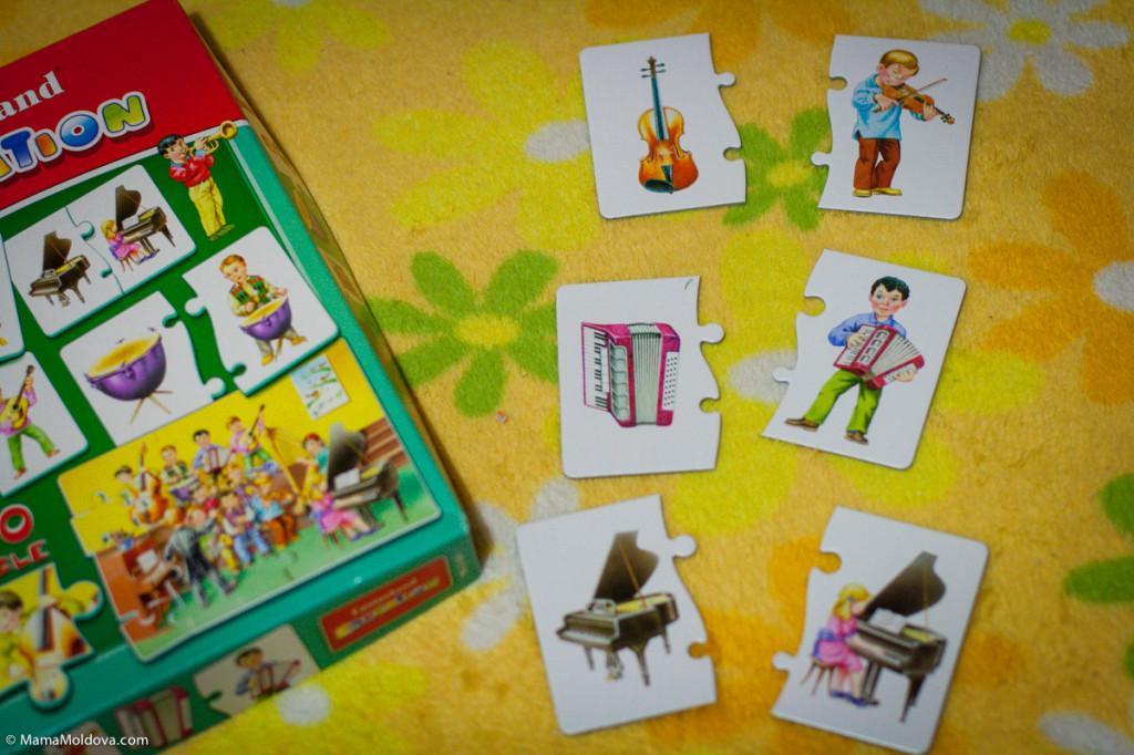 развивающий пазл для детей, обучающий пазл, пазл для самых маленьких, подарок для ребёнка 2 года