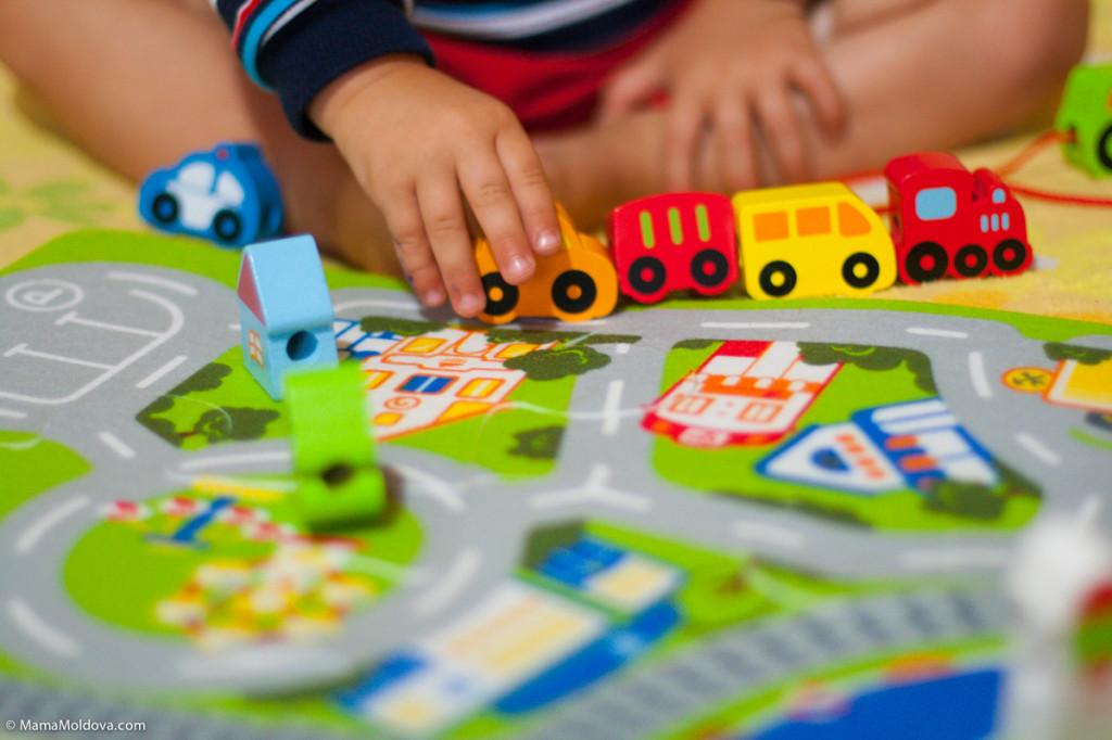 Развивающая игрушка Busy City Play Set фирмы Hape