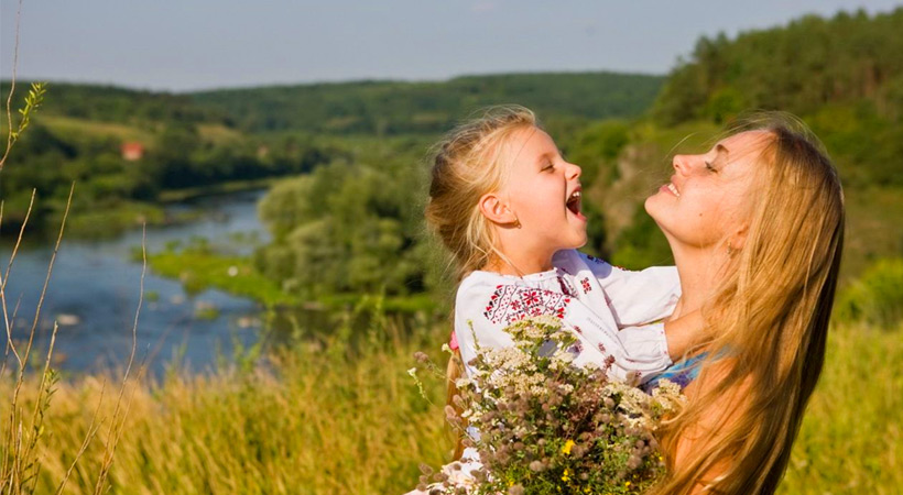 как воспитывать дочку, славянские традиция воспитания детей