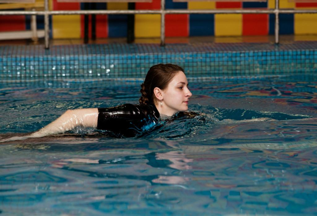 Марина Ващенко, Молдова Кишинёв, плавание