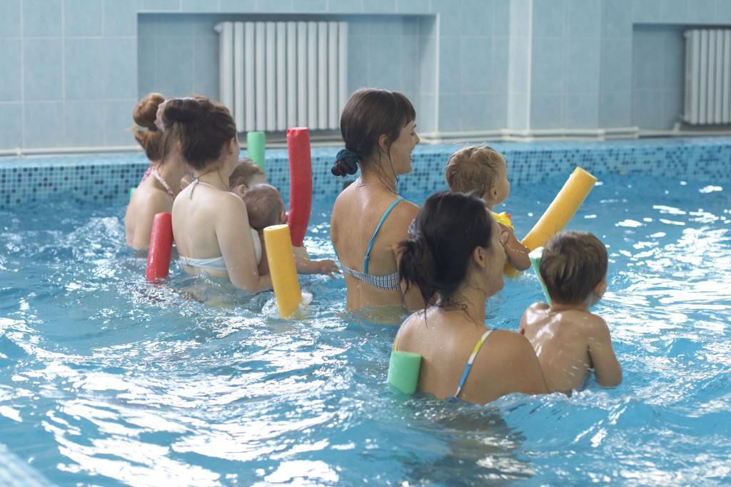 плавание с детьми Молдова Кишинёв