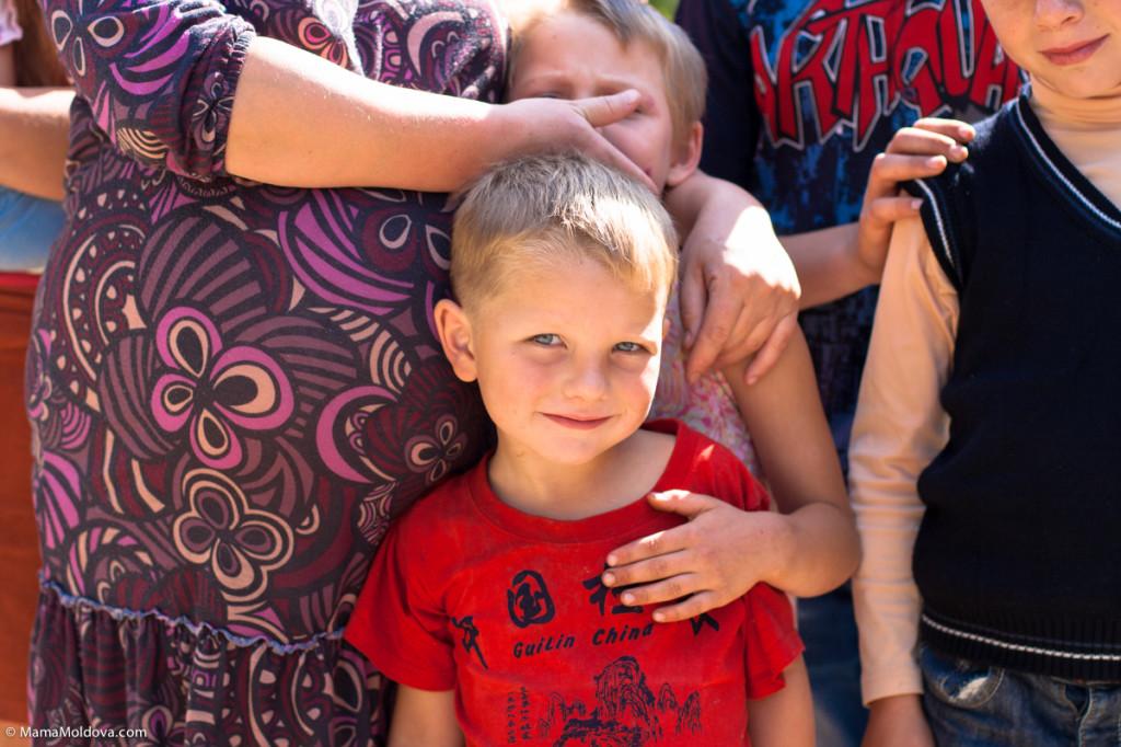 многодетная семья, село Рышкова, Криулянский район