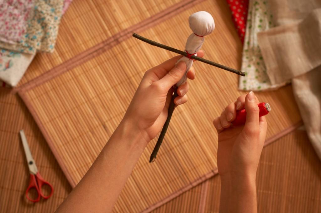 правила изготовления русских народных кукол