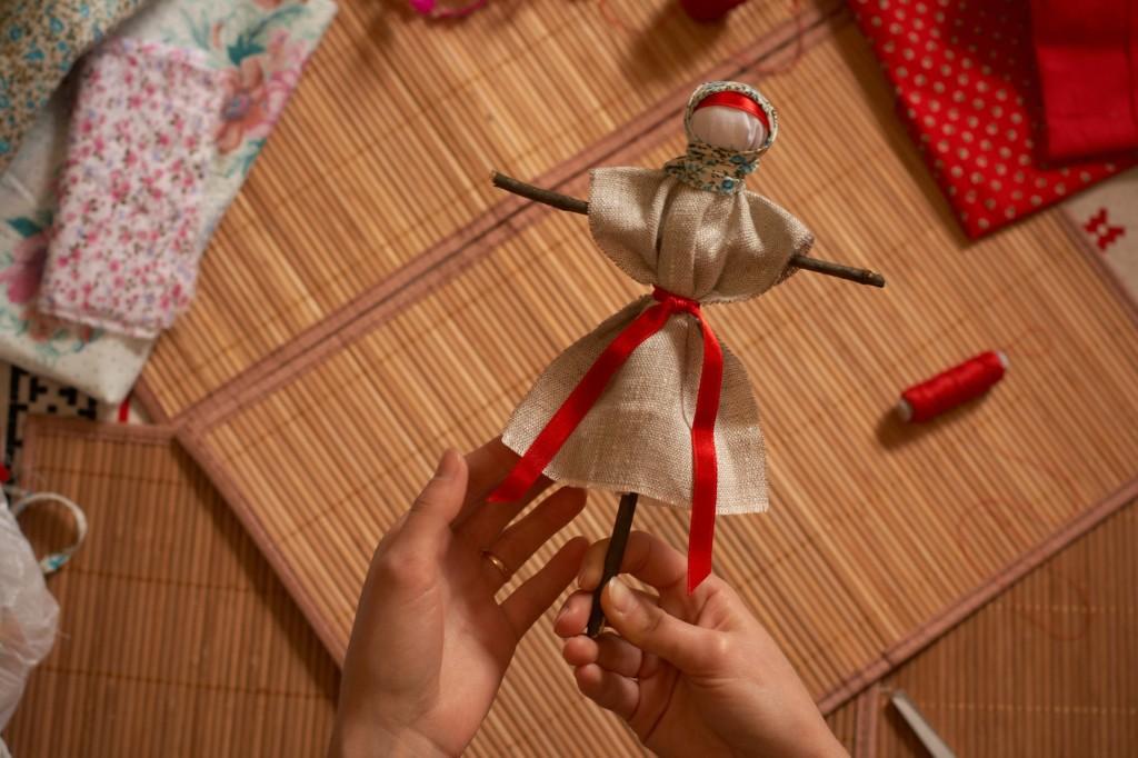 обережная кукла пояс
