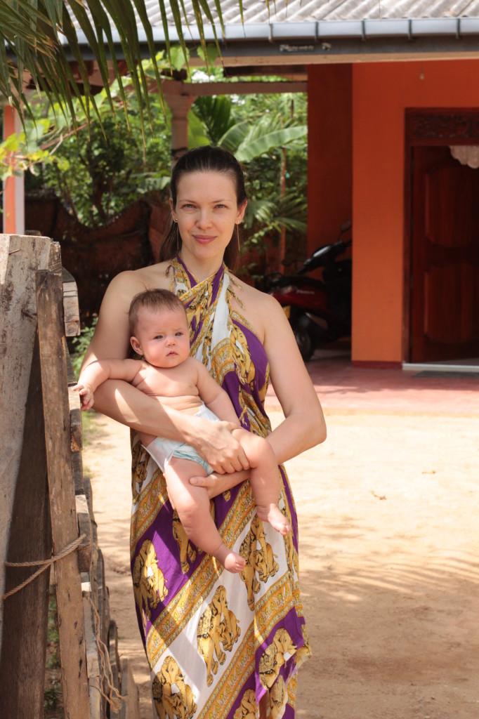 путешествие с грудным ребёнком