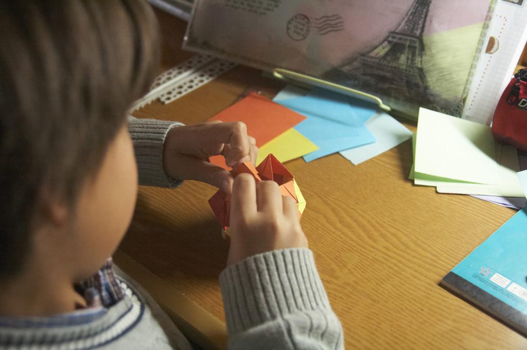 школа Сергея Мокана, оригами для детей
