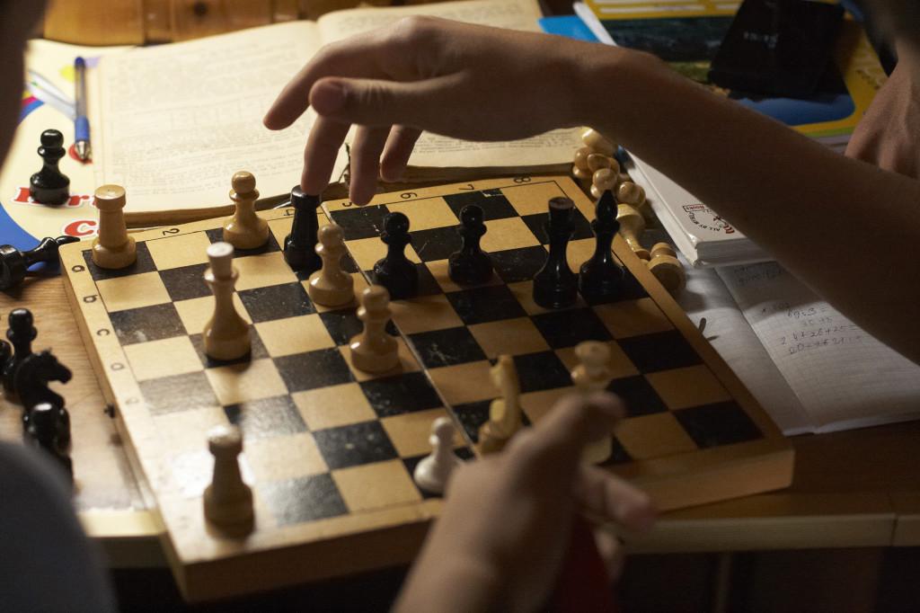школа Сергея Мокана, шахматы