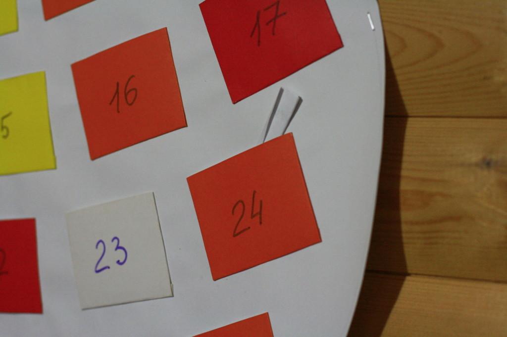 простой адвент календарь