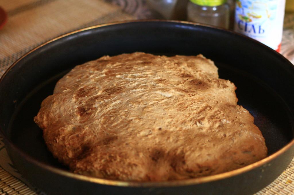 как приготовить, бездрожжевой хлеб, самому