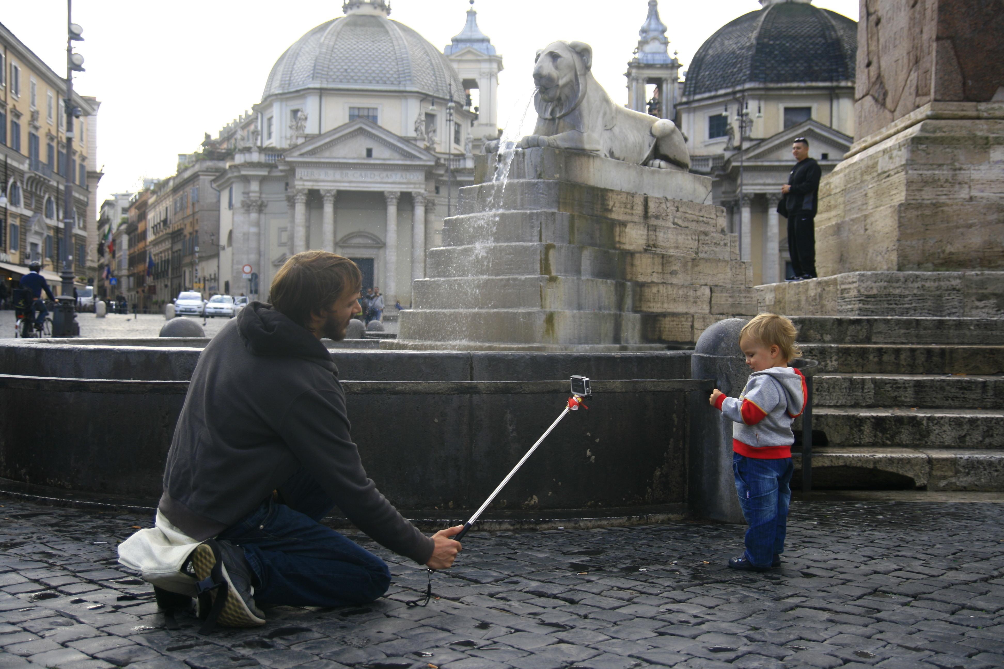 Народная площадь Рим, Piazza del Poppolo