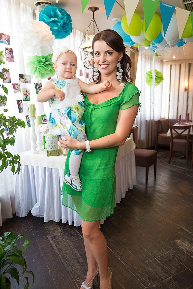 Инна Кислару с дочкой Сьюзи