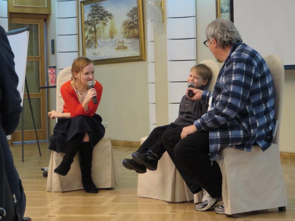 Оскар Бренифье разговаривает с ребёнком