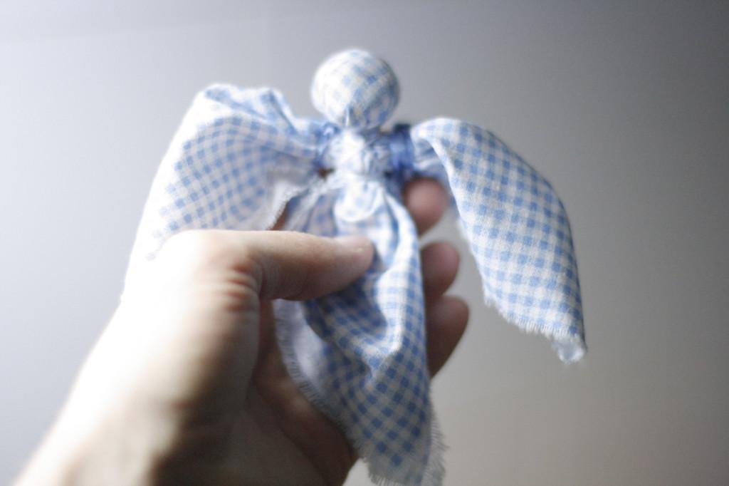 кукла ангел мастер-класс