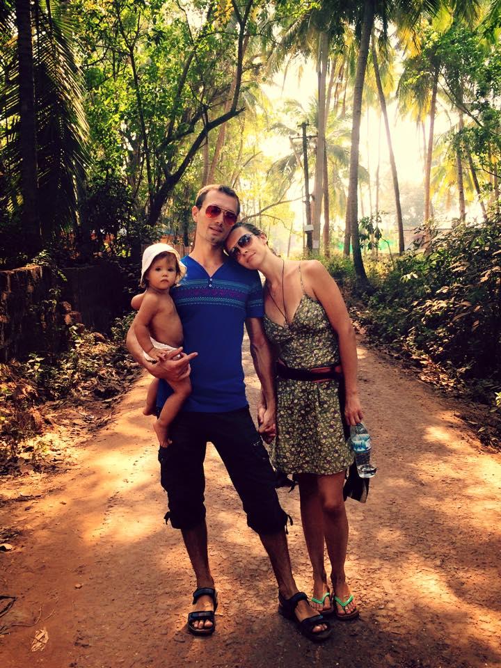 в Индию с ребёнком