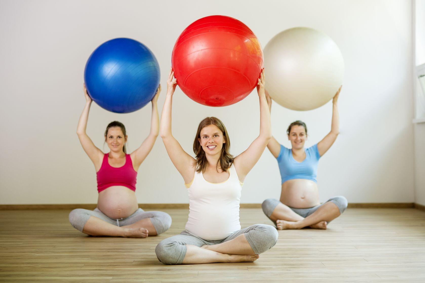 пилатес во время беременности, пилатес для беременных