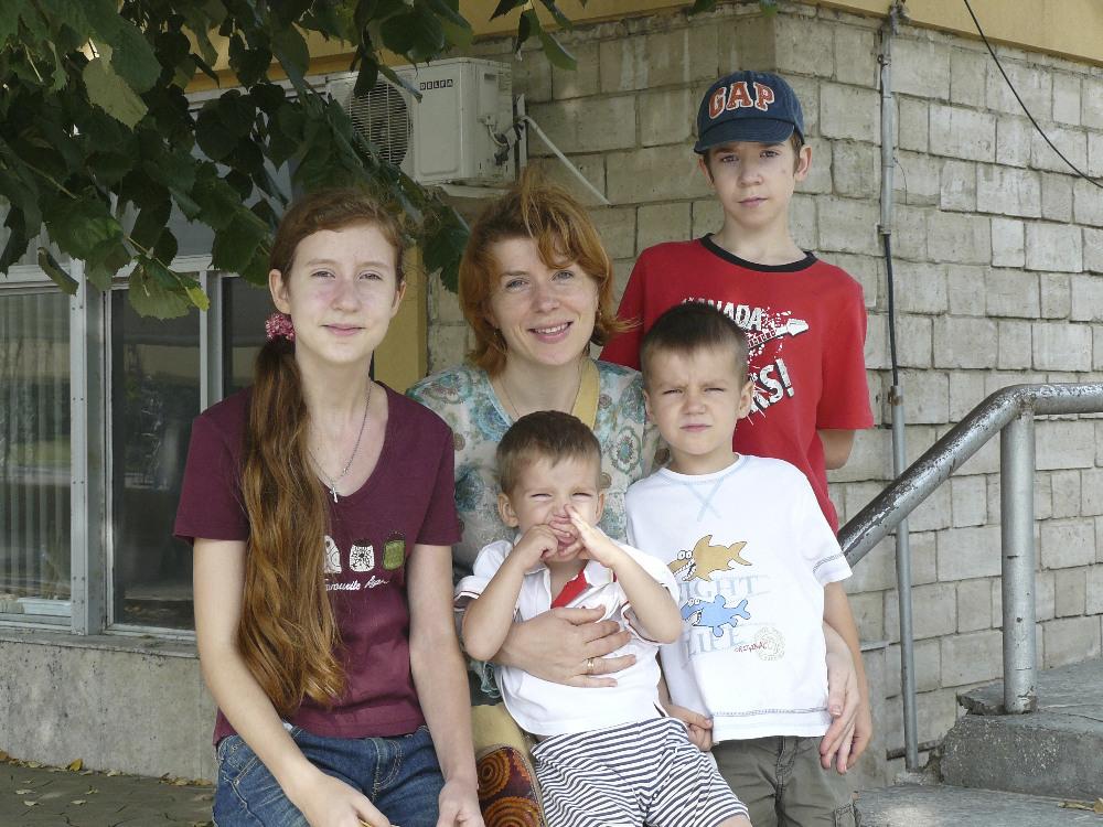 мама четверых детей, многодетная мама