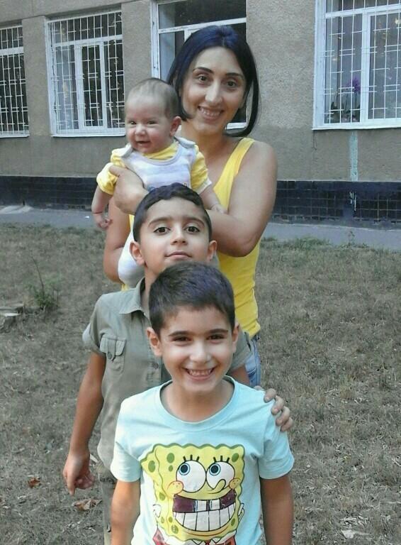 мама и три сына