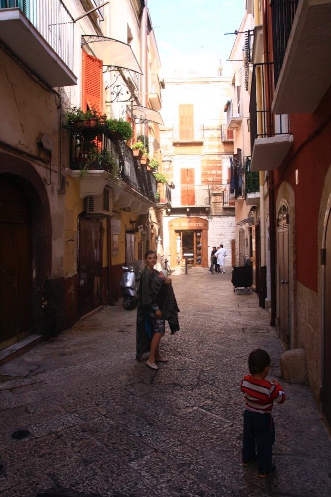 Бари старый город