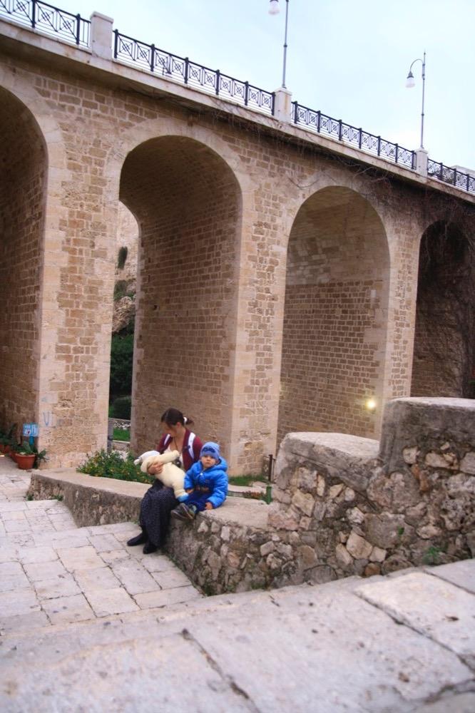 Полиньяно а Маре с детьми