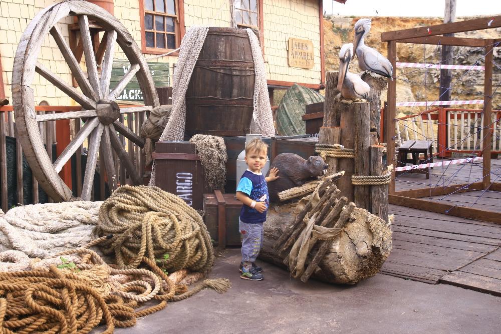 Popeya Village, что посмотреть на Мальте с ребёнком
