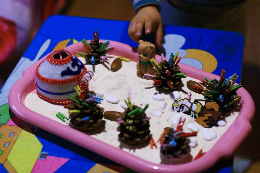 новогодние игры и поделки с ребёнком