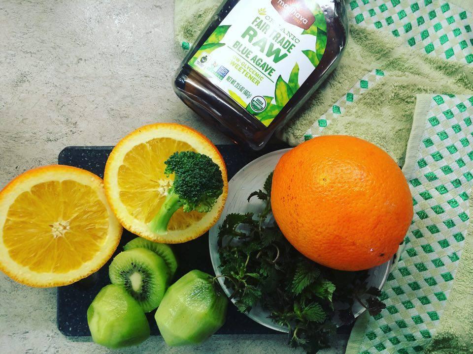 зелёный смузи рецепт