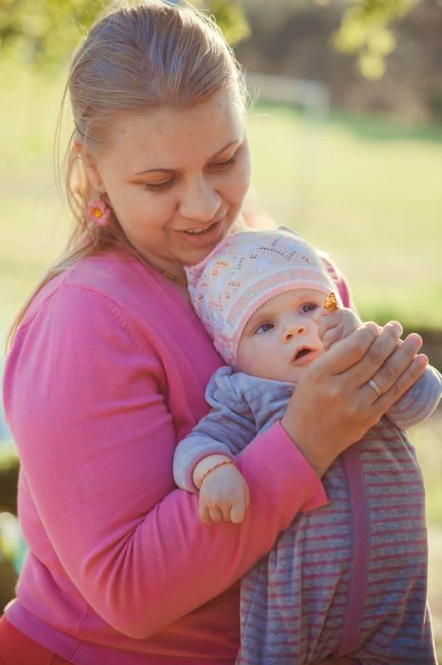 Вероника Козленкова с мамой