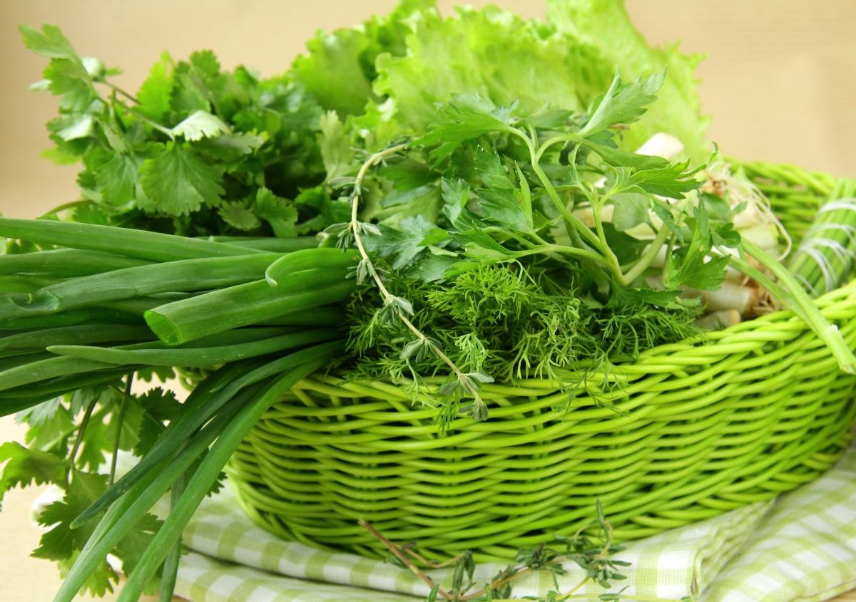 зелень еда