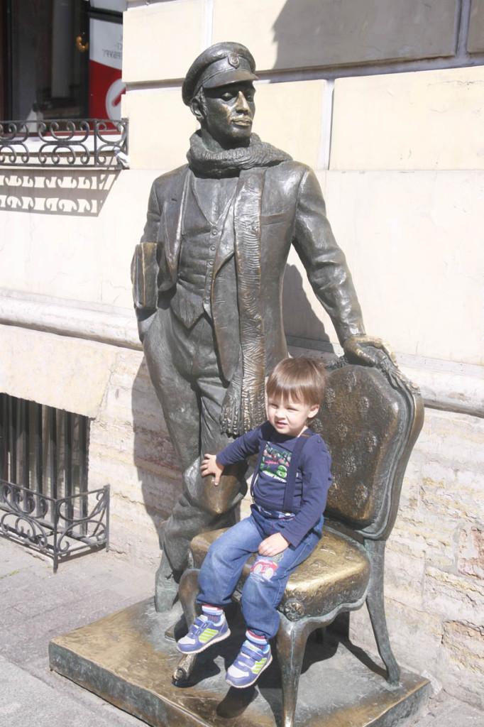 в Петербург с детьми