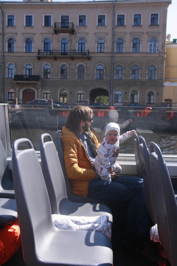прогулка по каналам Петербург