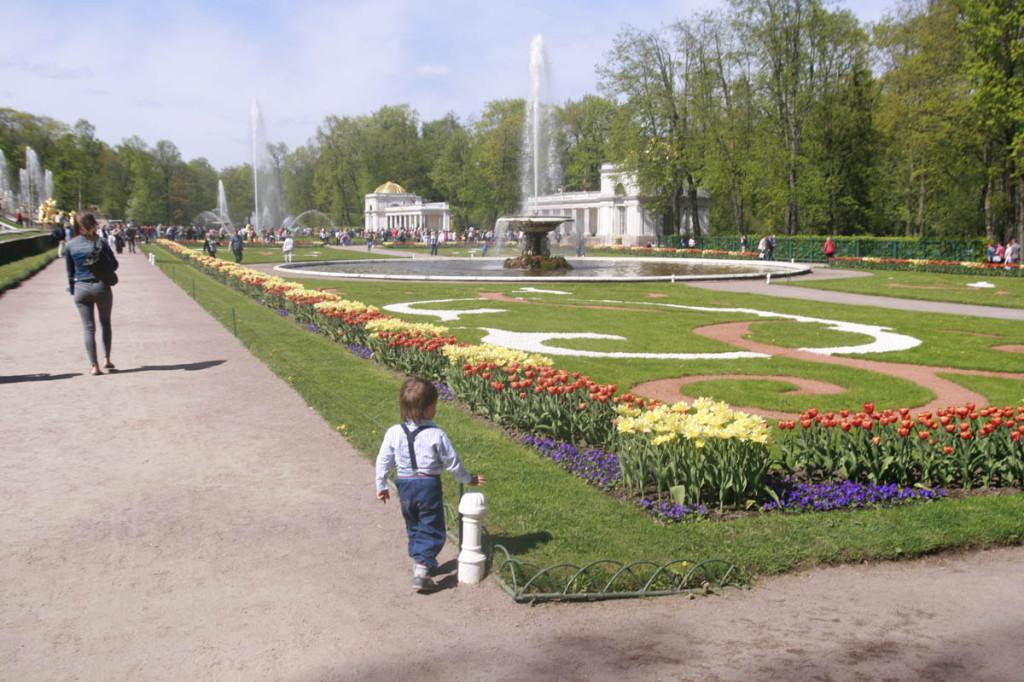 в Петербург с ребёнком