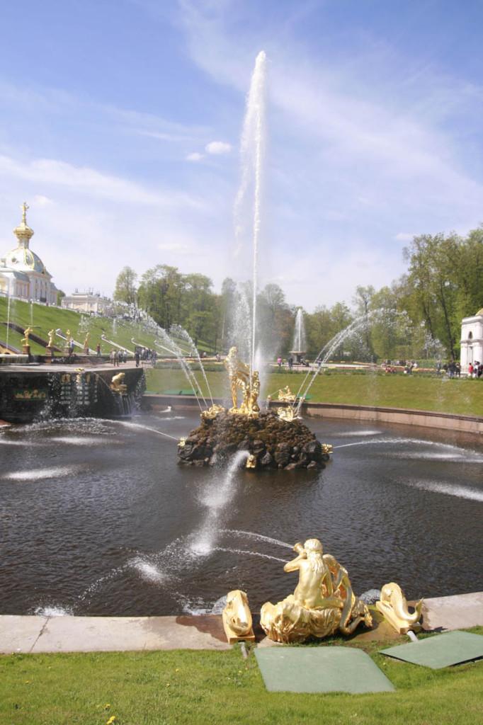 фонтаны Петергоф