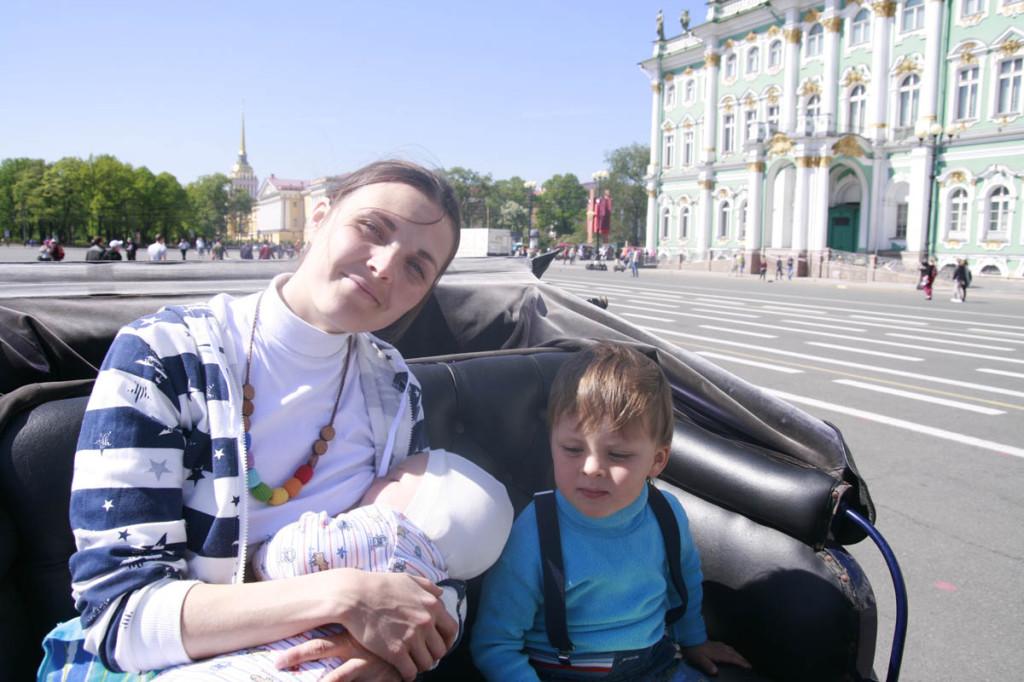 в Питер с ребёнком