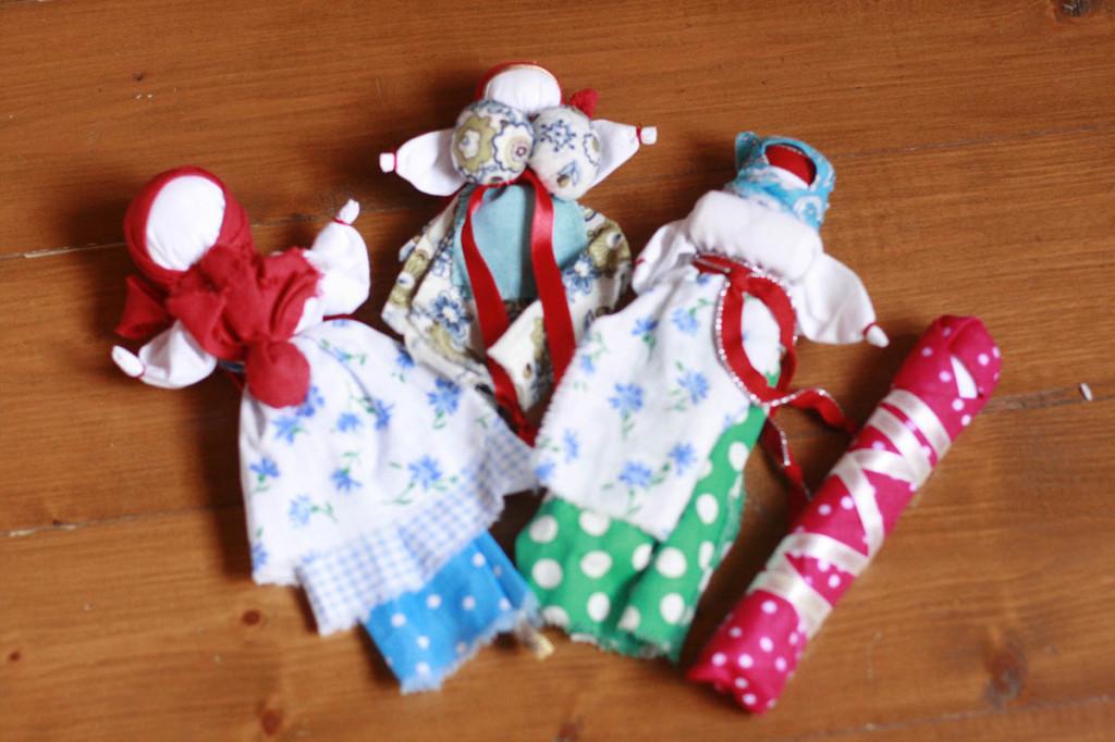 куклы обереги для ребёнка