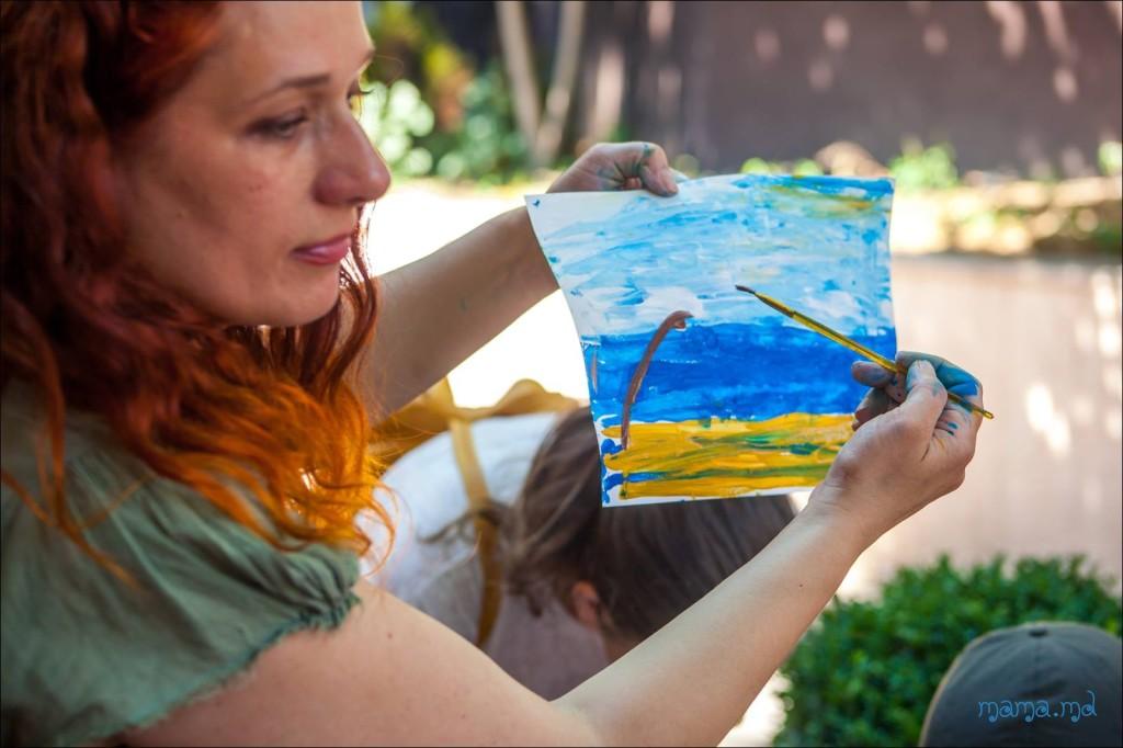 урок рисования для детей