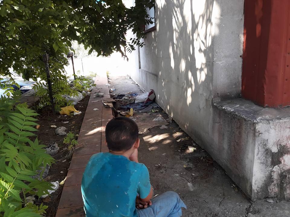 бездомный ребёнок