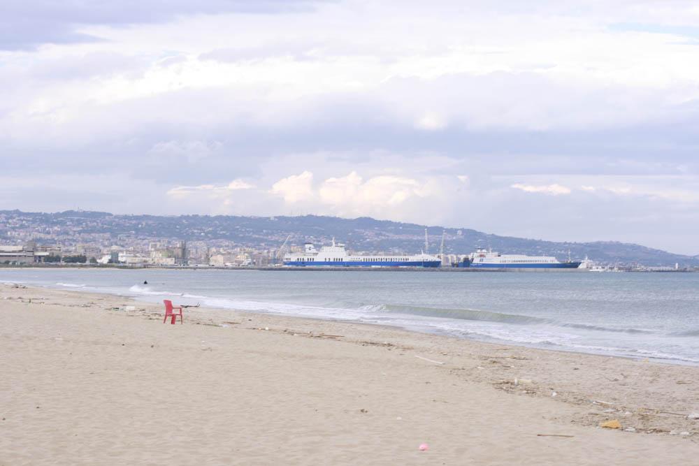 пляж Катании