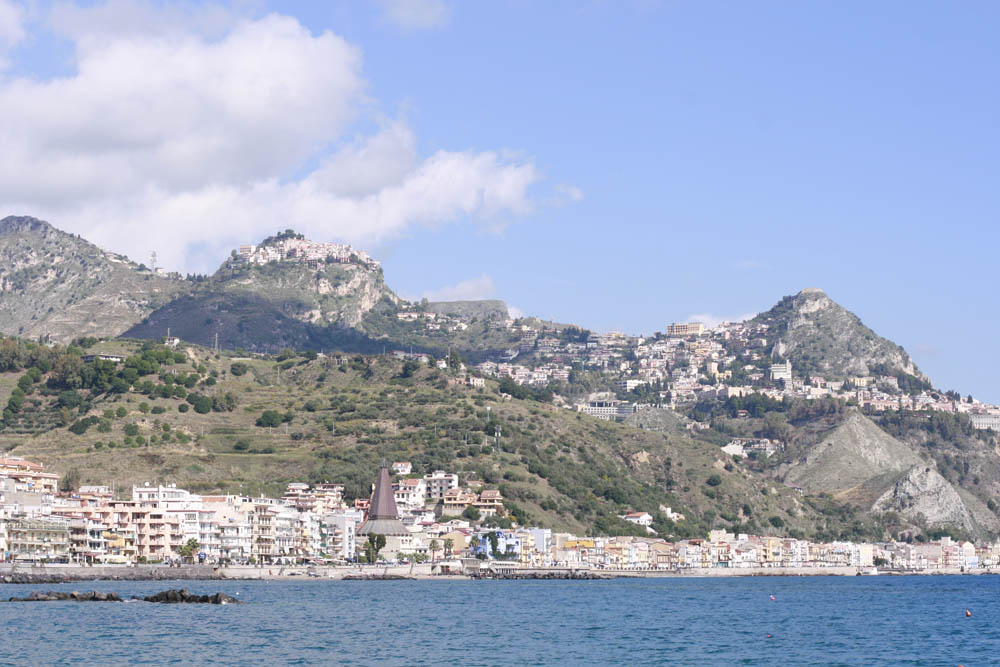 сицилия побережье