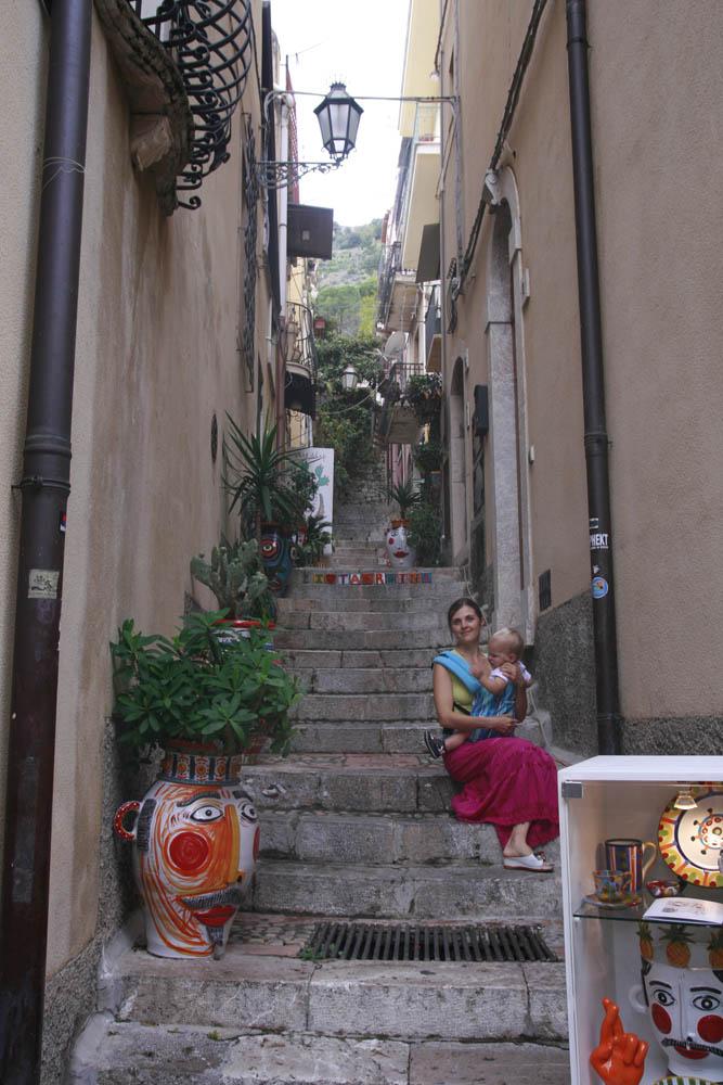 Таормина город в Сицилии