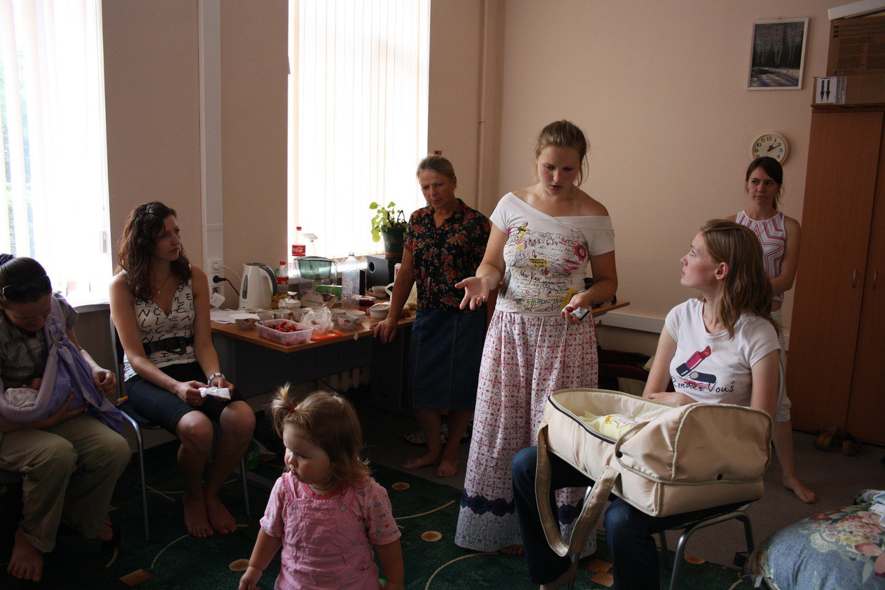 клуб кормящих мам