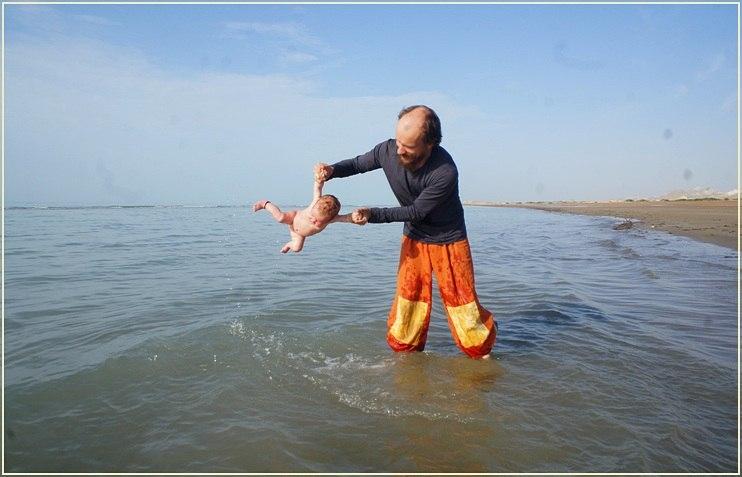 динамическая гимнастика на море