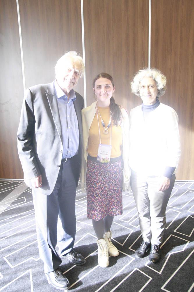 Екатерина Микитенко с Мишелем Оденом и Лилианой Ламмерс