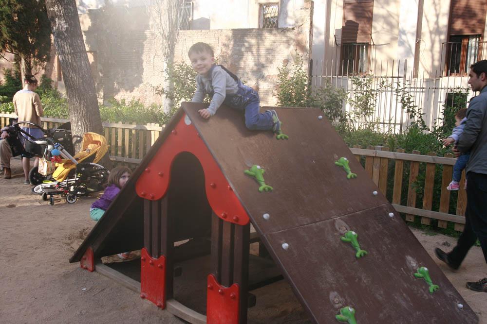 детская площадка в барселоне