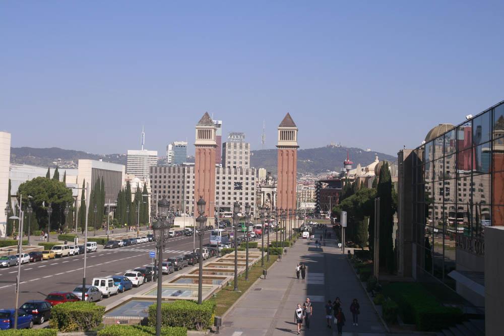 площадь Испании Барселона